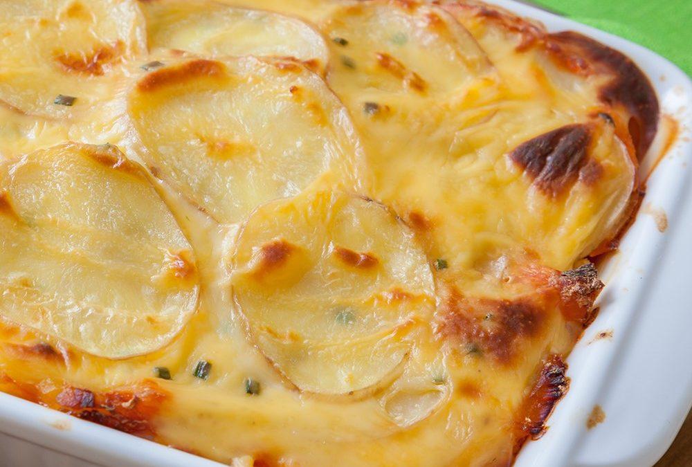 Que tal batatas ao forno?